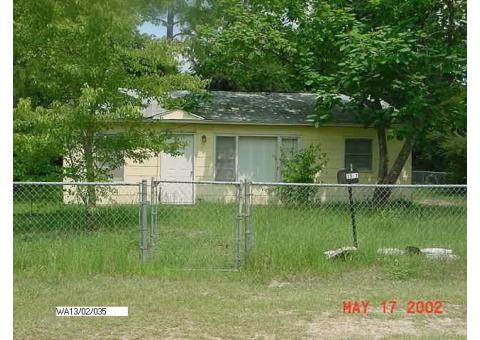 Waycross, Ga Home going to Live, Public Auction
