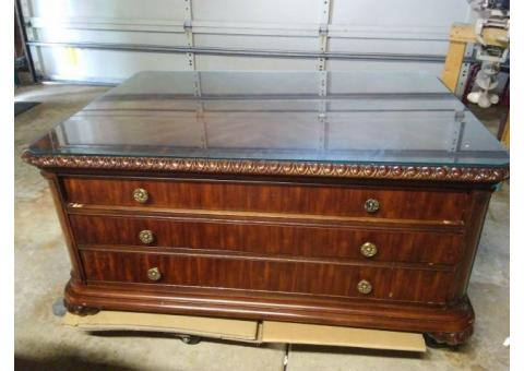 Executive Coffee Table with matching End Table
