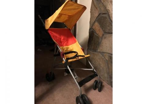 Stroller and booster seat