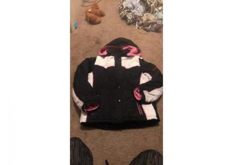 Girls double layer winter coat size 14/16
