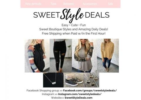 Affordable Womens Boutique clothes